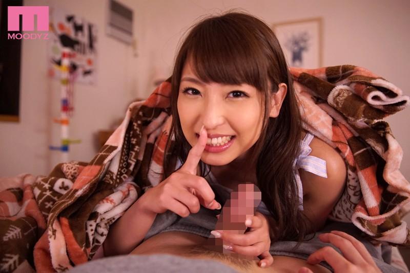 【秋山祥子】寝ている妹の隣で彼氏にチングリ返しでアナル舐めする誘惑お姉ちゃん