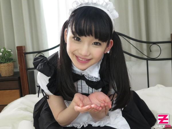 【姫川ゆうな】笑顔でご奉仕してくれる従順童顔メイド